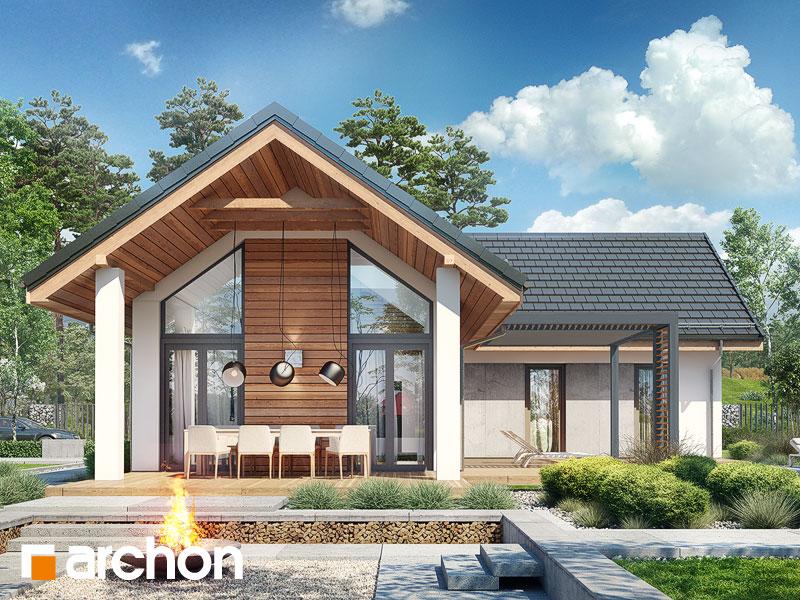 gotowy projekt Dom w marzankach (G) widok 1