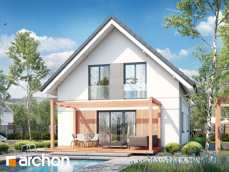 gotowy projekt Dom w zielistkach (GNA) widok 1