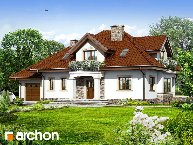 gotowy projekt Dom w kaliach 3 (P) widok 1