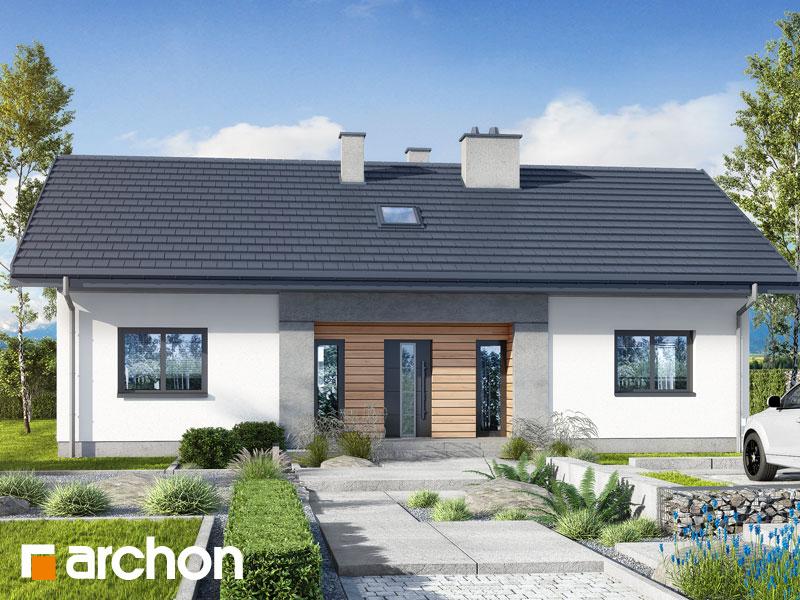 gotowy projekt Dom w kostrzewach 7 widok 1