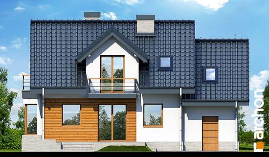 Elewacja ogrodowa projekt dom w perlowce n ver 2  267