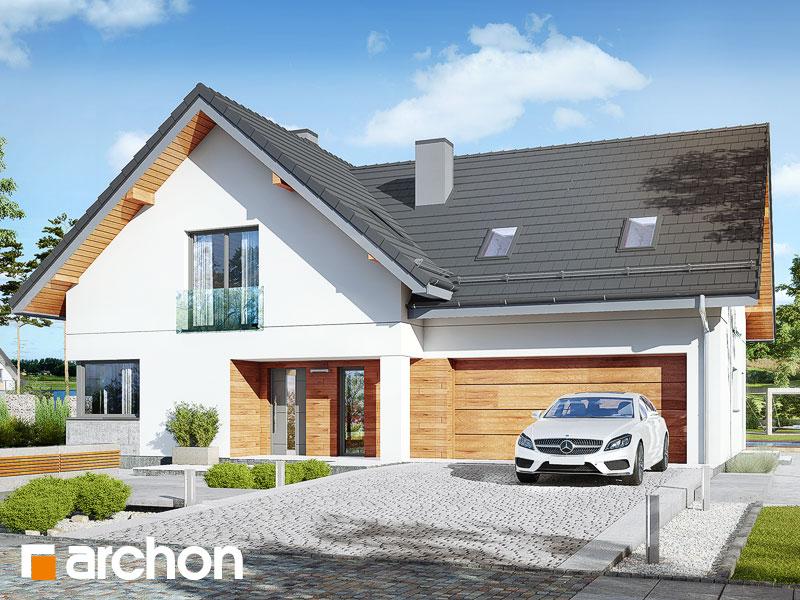 gotowy projekt Dom w miodownikach (G2) widok 1