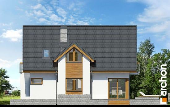 Elewacja boczna projekt dom w morelach n ver 2  265