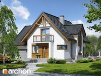 projekt Dom w morelach (N) widok 1