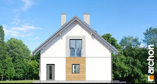 Elewacja boczna projekt dom w szmaragdach 2  265