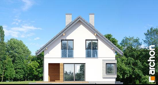 Elewacja boczna projekt dom w szmaragdach 2  266
