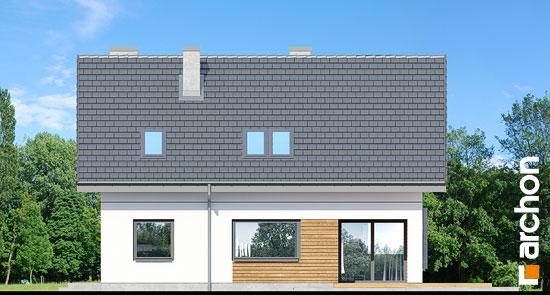 Elewacja ogrodowa projekt dom w szmaragdach 2  267