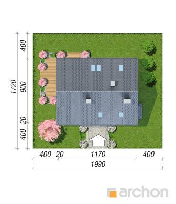 projekt Dom w szmaragdach 2 sytuacja