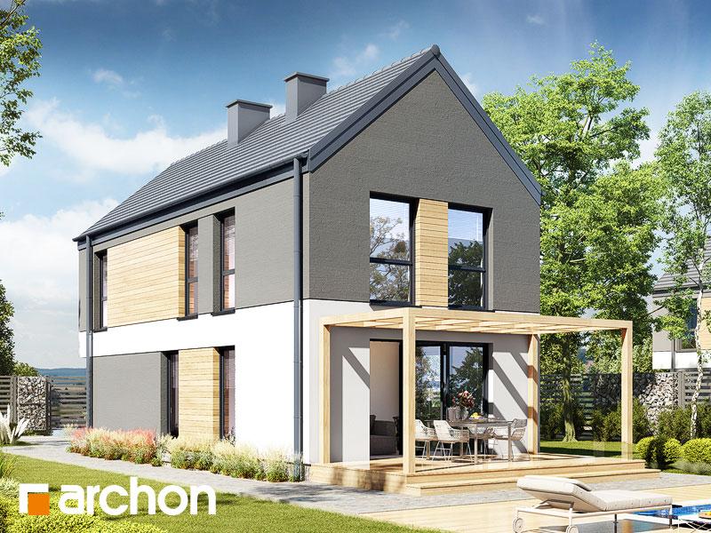gotowy projekt Dom w ribesach 2 (G) widok 2