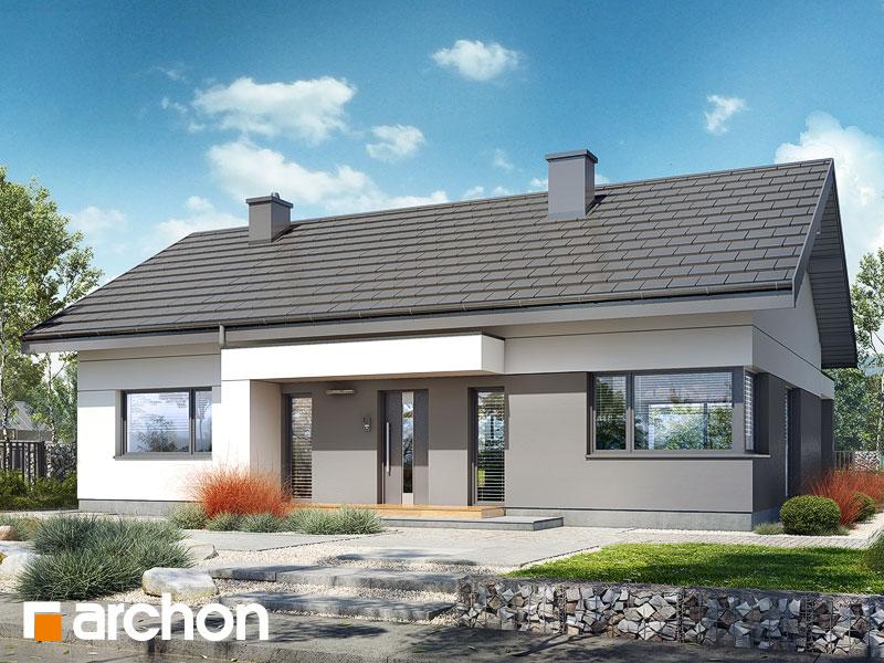 gotowy projekt Dom w kostrzewach 5 widok 1