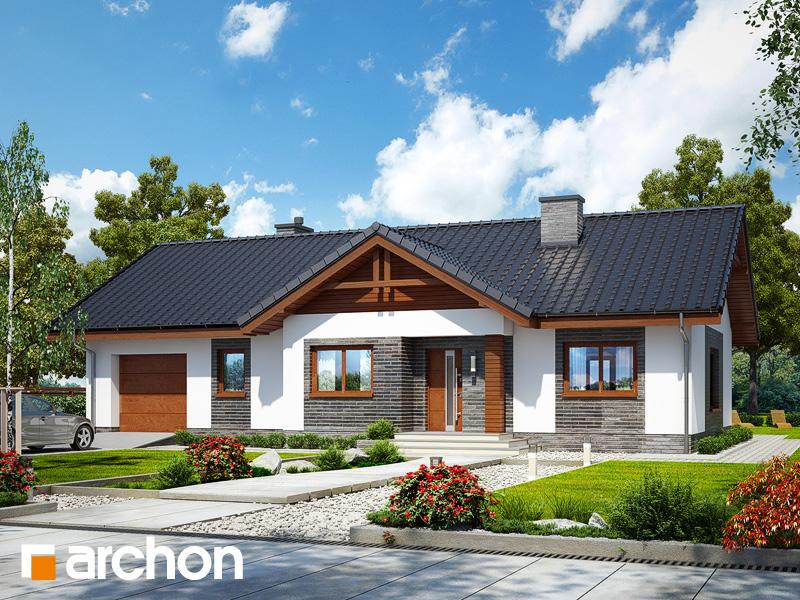 gotowy projekt Dom w leszczynowcach (G) widok 1