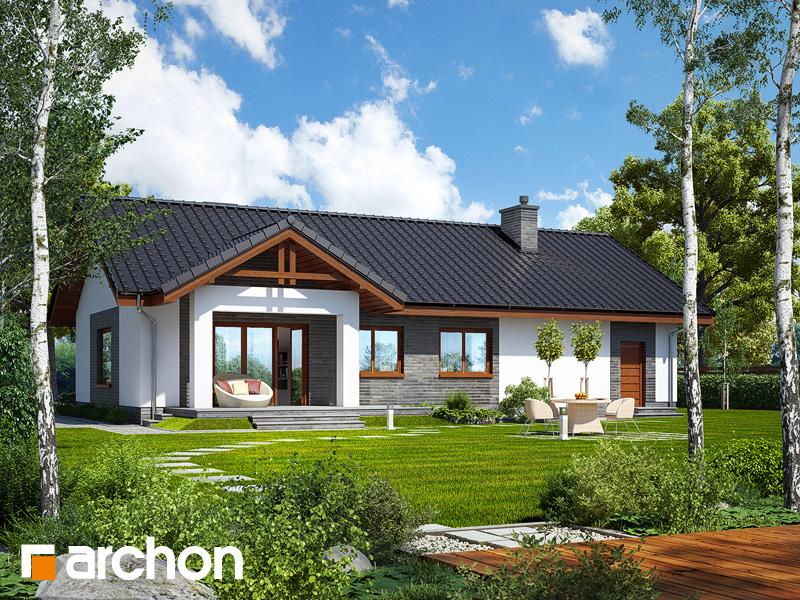 gotowy projekt Dom w leszczynowcach (G) widok 2