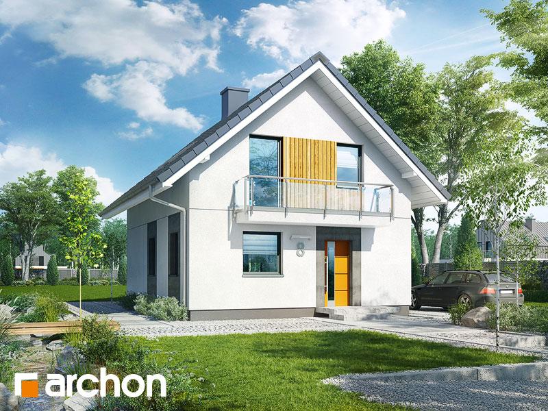 gotowy projekt Dom w arkadiach 2 widok 1