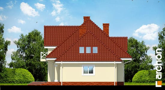 Elewacja boczna projekt dom w lubczyku ver 2  265