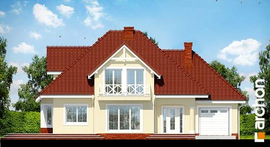 Elewacja frontowa projekt dom w lubczyku ver 2  264