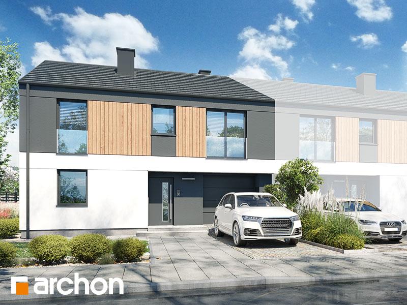 gotowy projekt Dom w murajach (GB) widok 1