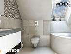 projekt Dom w awokado Wizualizacja łazienki (wizualizacja 1 widok 2)
