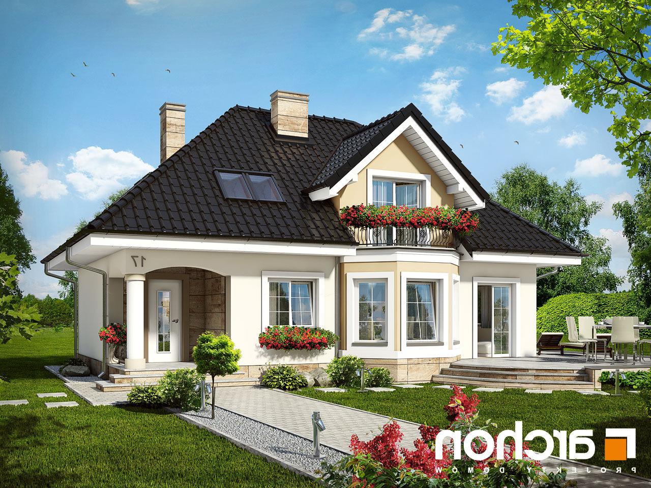 projekt domu dom w awokado ver 2 archon. Black Bedroom Furniture Sets. Home Design Ideas