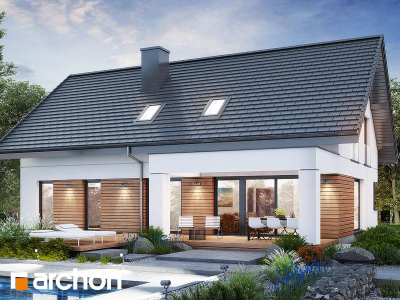 gotowy projekt Dom w balsamowcach 2 (G2) widok 2
