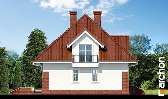 Elewacja boczna projekt dom w koniczynce ver 2  266
