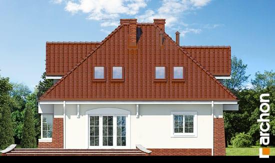 Elewacja ogrodowa projekt dom w koniczynce ver 2  267