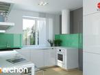 projekt Dom w koniczynce Aranżacja kuchni 1 widok 2