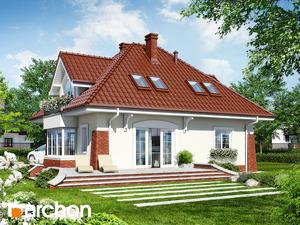 projekt Dom w koniczynce widok 2