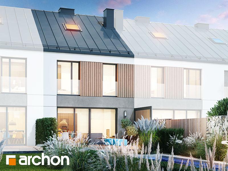 gotowy projekt Dom w riveach 9 (GS) widok 1