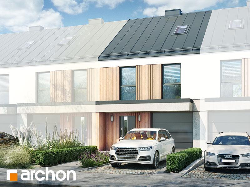 gotowy projekt Dom w riveach 9 (GS) widok 2