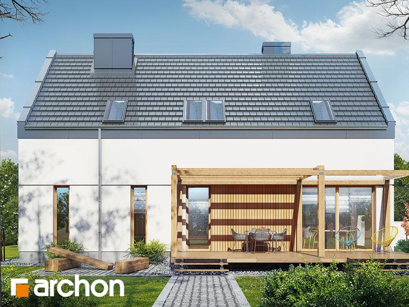 gotowy projekt Dom w żurawkach 8 widok 1
