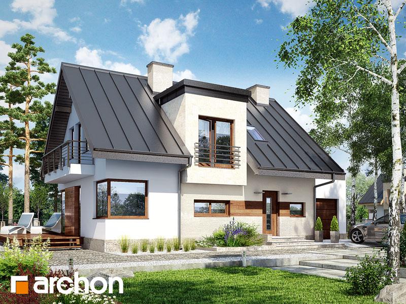 gotowy projekt Dom w amarylisach 3 widok 1