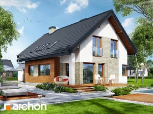 gotowy projekt Dom w miodokwiatach 2 (G2)