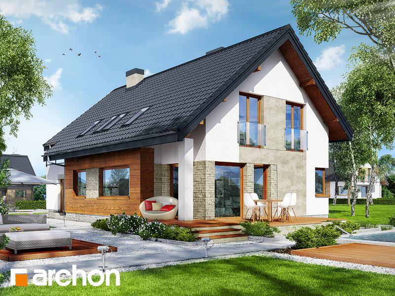 gotowy projekt Dom w miodokwiatach 2 (G2) widok 1