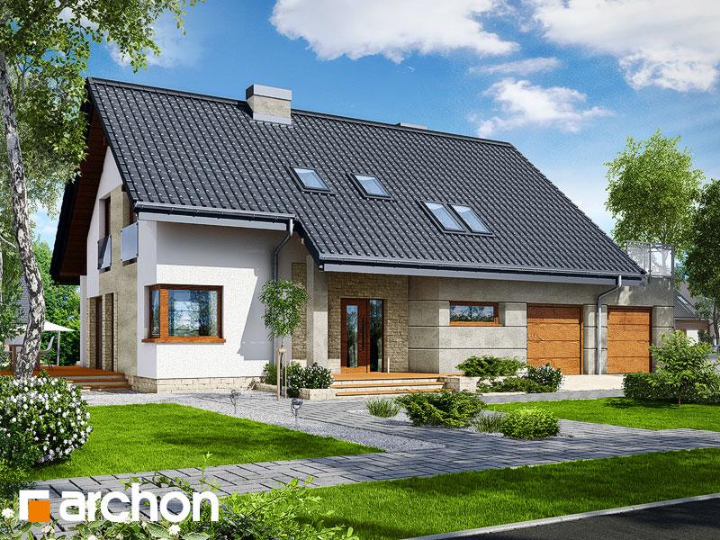 gotowy projekt Dom w miodokwiatach 2 (G2) widok 2