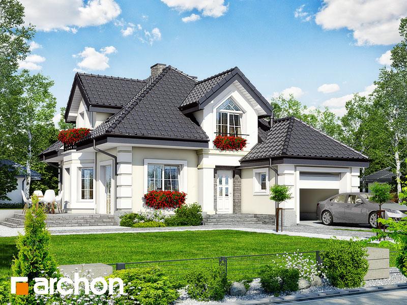 gotowy projekt Dom w rukoli 6 widok 1