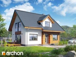 projekt Dom w zielistkach 3 (A)
