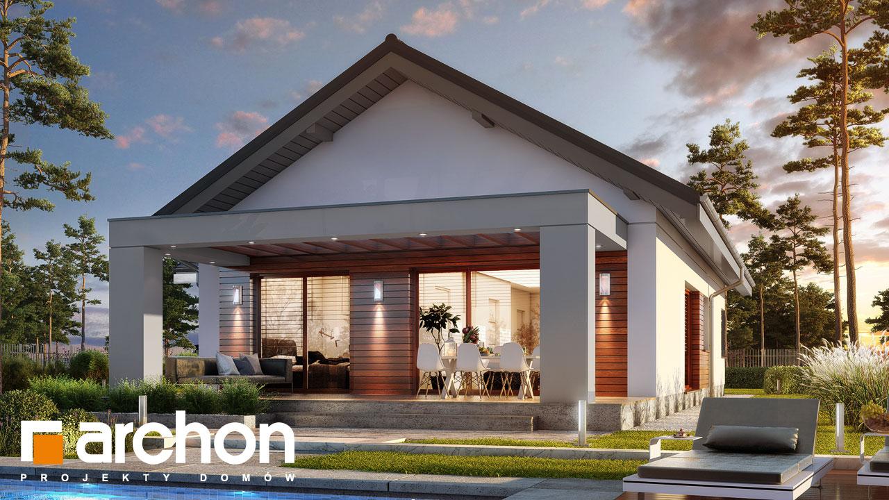 Projekt Domu Dom Pod Pomarancza G Archon