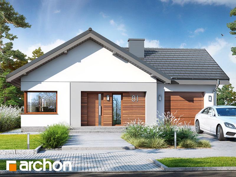 Poważne Projekt domu Dom pod pomarańczą (G) - ARCHON+ DB75