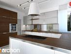 projekt Willa Weronika 3 (P) Wizualizacja kuchni 1 widok 3