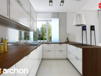 projekt Willa Weronika 3 (P) Wizualizacja kuchni 1 widok 2
