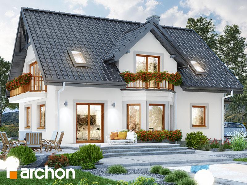 gotowy projekt Dom w świetliku widok 2