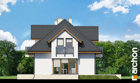 Elewacja boczna projekt dom w werbenach n ver 2  265