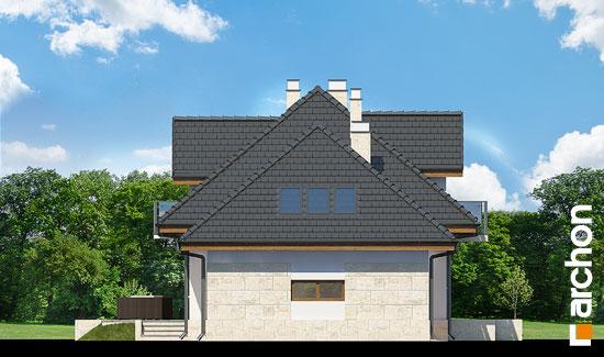 Elewacja boczna projekt dom w werbenach n ver 2  266