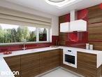 projekt Dom w werbenach (N) Aranżacja kuchni 1 widok 2