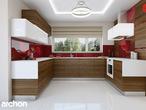 projekt Dom w werbenach (N) Aranżacja kuchni 1 widok 4