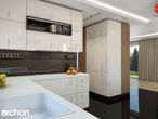 projekt Dom w werbenach (N) Aranżacja kuchni 2 widok 3