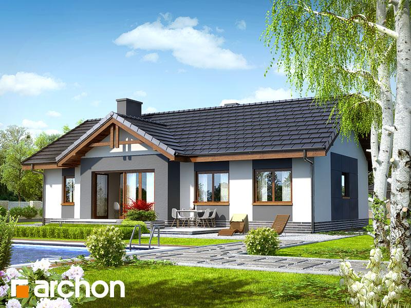 gotowy projekt Dom w nerinach (T) widok 2