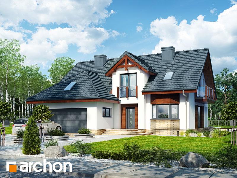 gotowy projekt Dom w kalateach 7 (G2T) widok 1