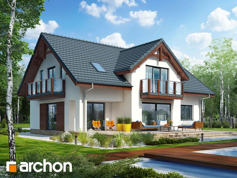 gotowy projekt Dom w kalateach 7 (G2T) widok 2
