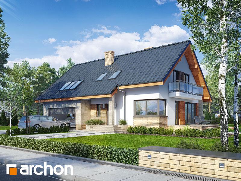 gotowy projekt Dom w idaredach (G2P) widok 1